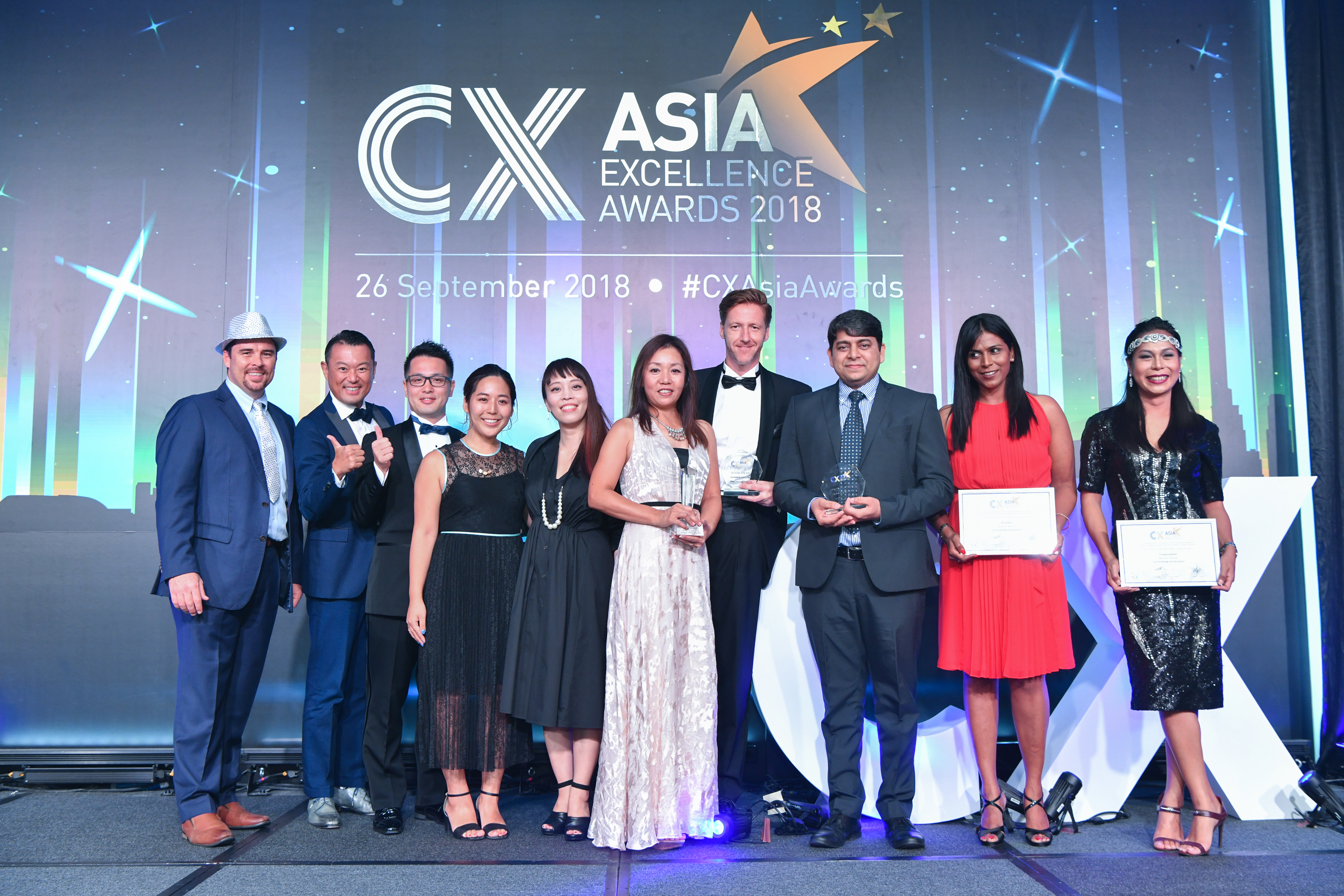SPARC wins Customer Experience Vendor Excellence Award!